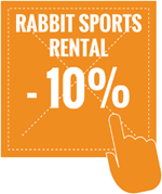 rabbit sports rental